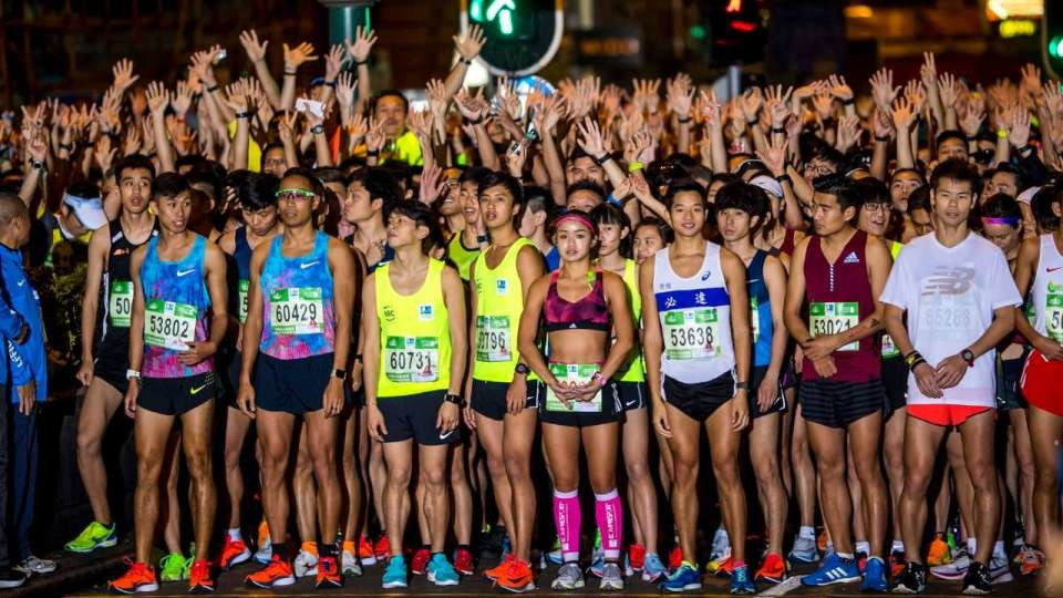 Hong Kong canceled its largest marathon because of the coronavirus threat to the city