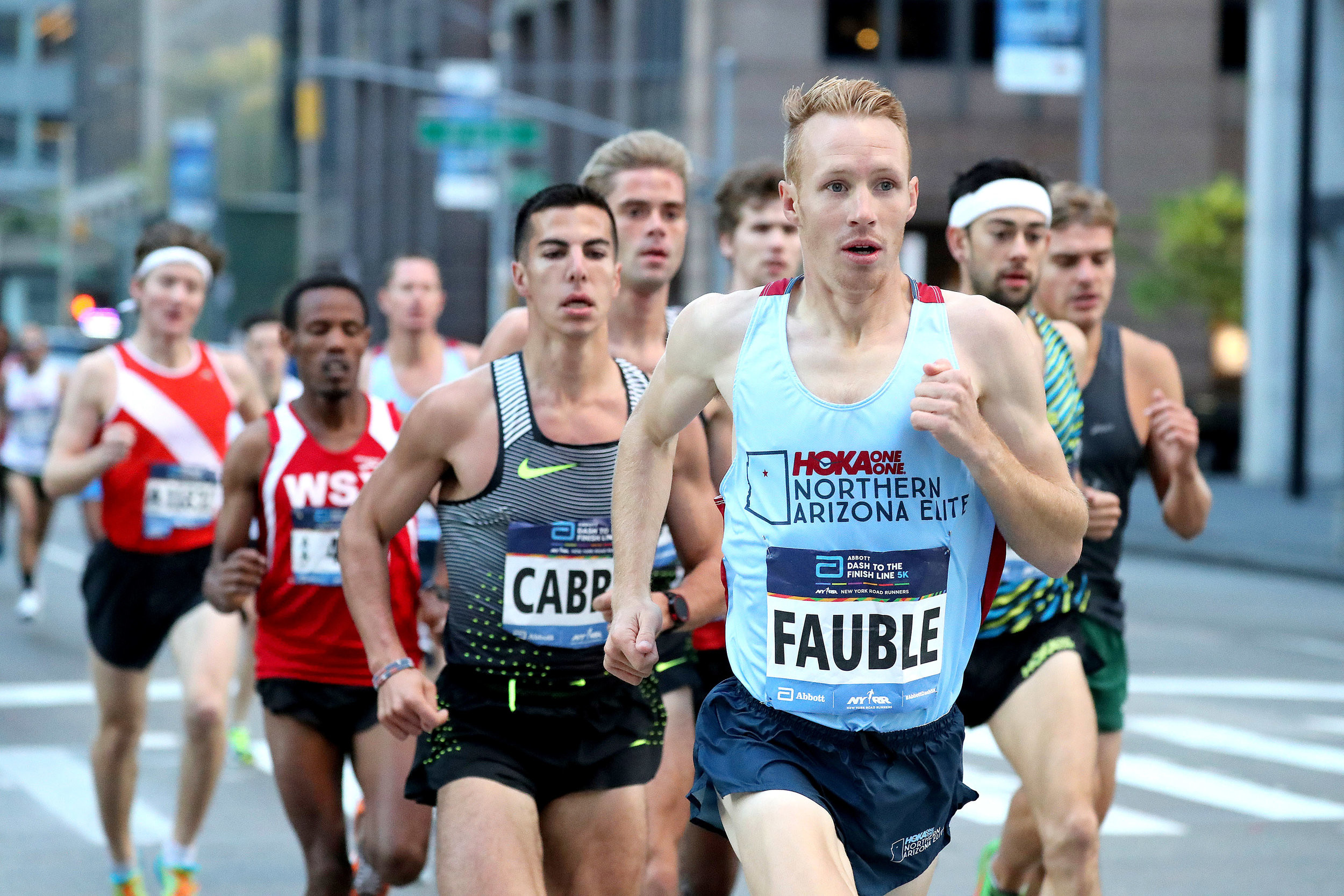 NAZ Elite's Scott Fauble is scheduled to run the TCS New York Marathon