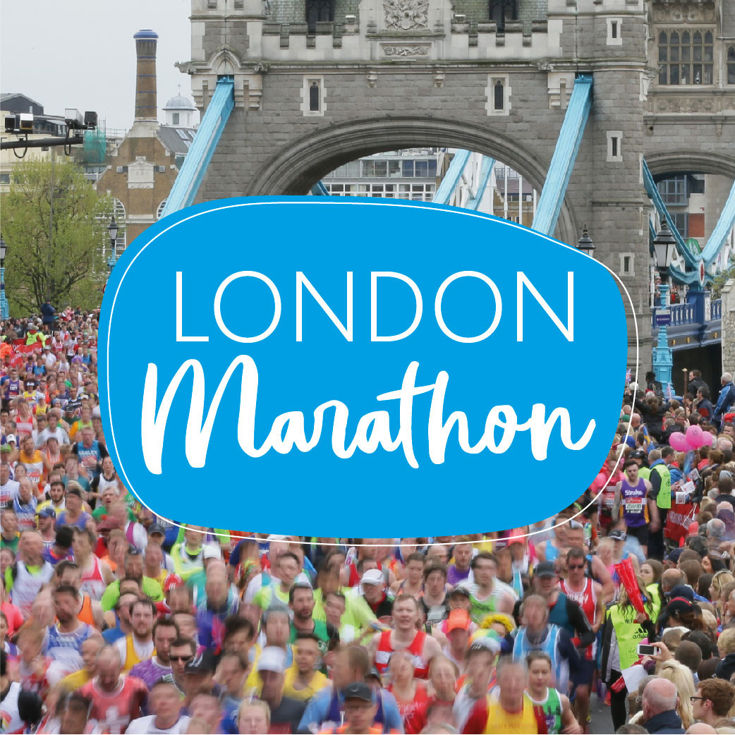 A message from the race director of the London Marathon Hugh Brasher