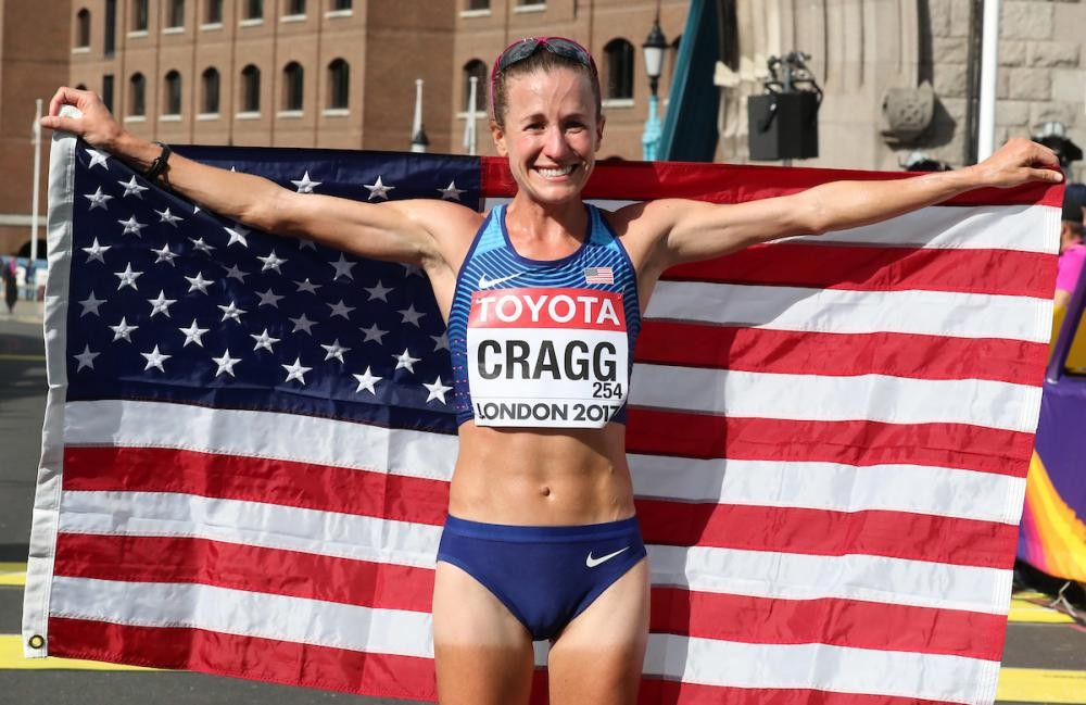 After struggling with fatigue last year Amy Cragg is focused on making the olympic team