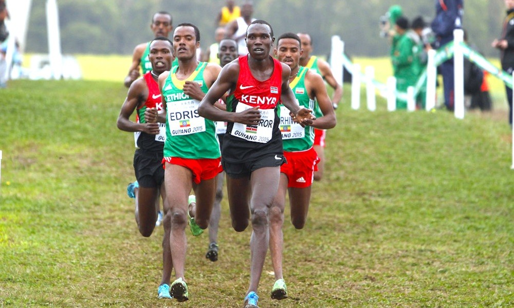 Kenya's Geoffrey Kamworor is in doubt of defending his world half marathon title for the fourth consecutive time on October 17 in Gdynia
