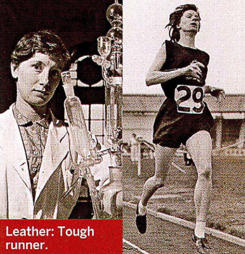 The first woman to break five minutes for the mile almost went unnoticed