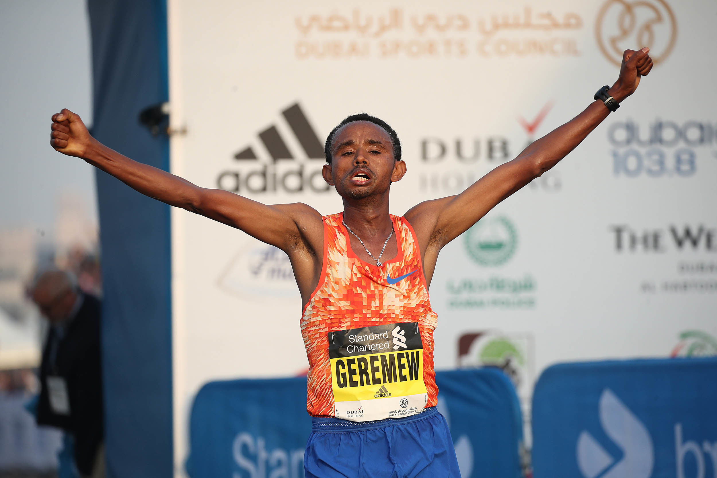 Will Ethiopia's Geremew powerful finishing sprint help him win Yangzhou for third time?