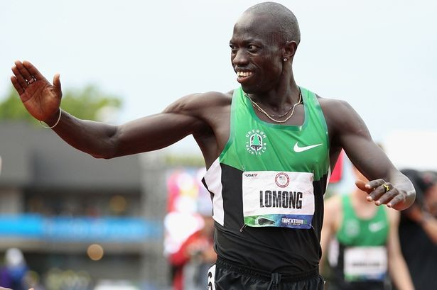 America's Lopez Lomong 10,000m track champion says it would be amazing to win Peachtree 10K too