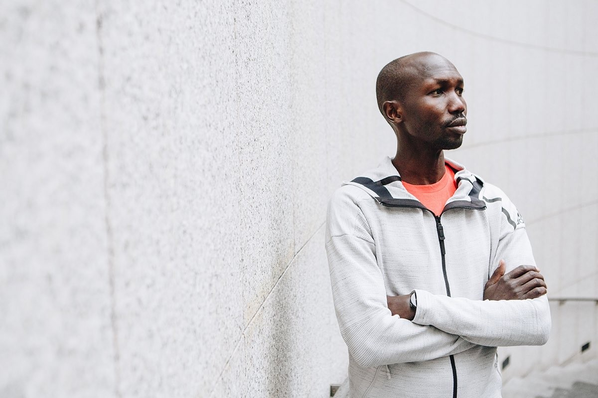 Wilson Kipsang did run the Tokushima Marathon and in fact won it Sunday
