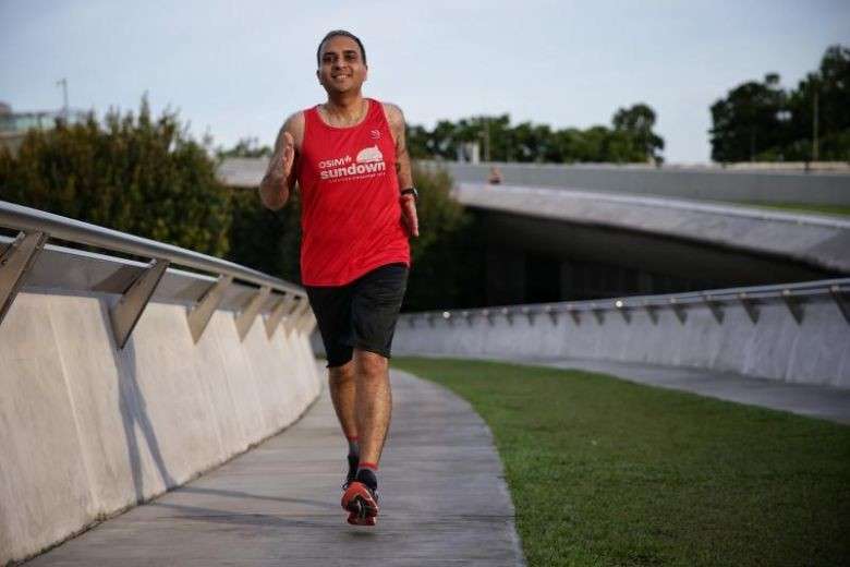 Priyank Sharma lost 57 pounds (26k) in six months through running and is ready to run the Sundown Marathon