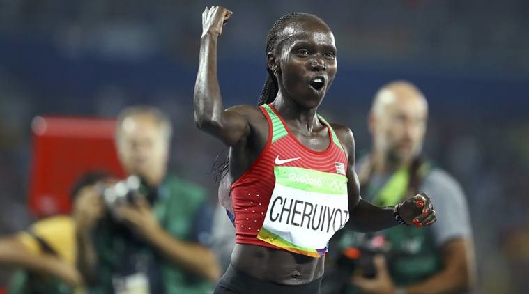 I want to win the Olympic Marathon says London winner Kenya's Vivian Cheruiyot