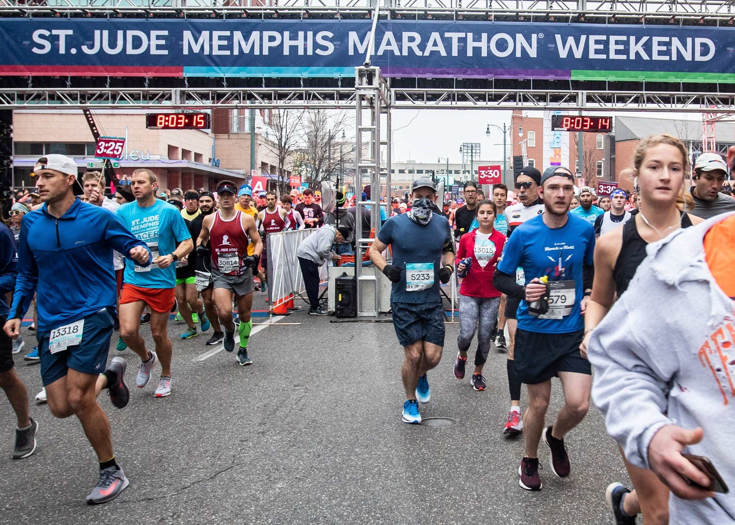 $12 million raised to battle childhood cancer, other life-threatening diseases at St. Jude Memphis Marathon