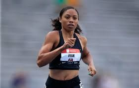 New mom Allyson Felix qualifies for her 13th world championships at Doha