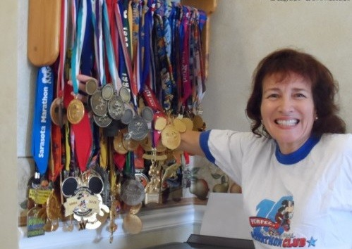 Susan Glickman has ran every single Disney Marathon and says race is like none other