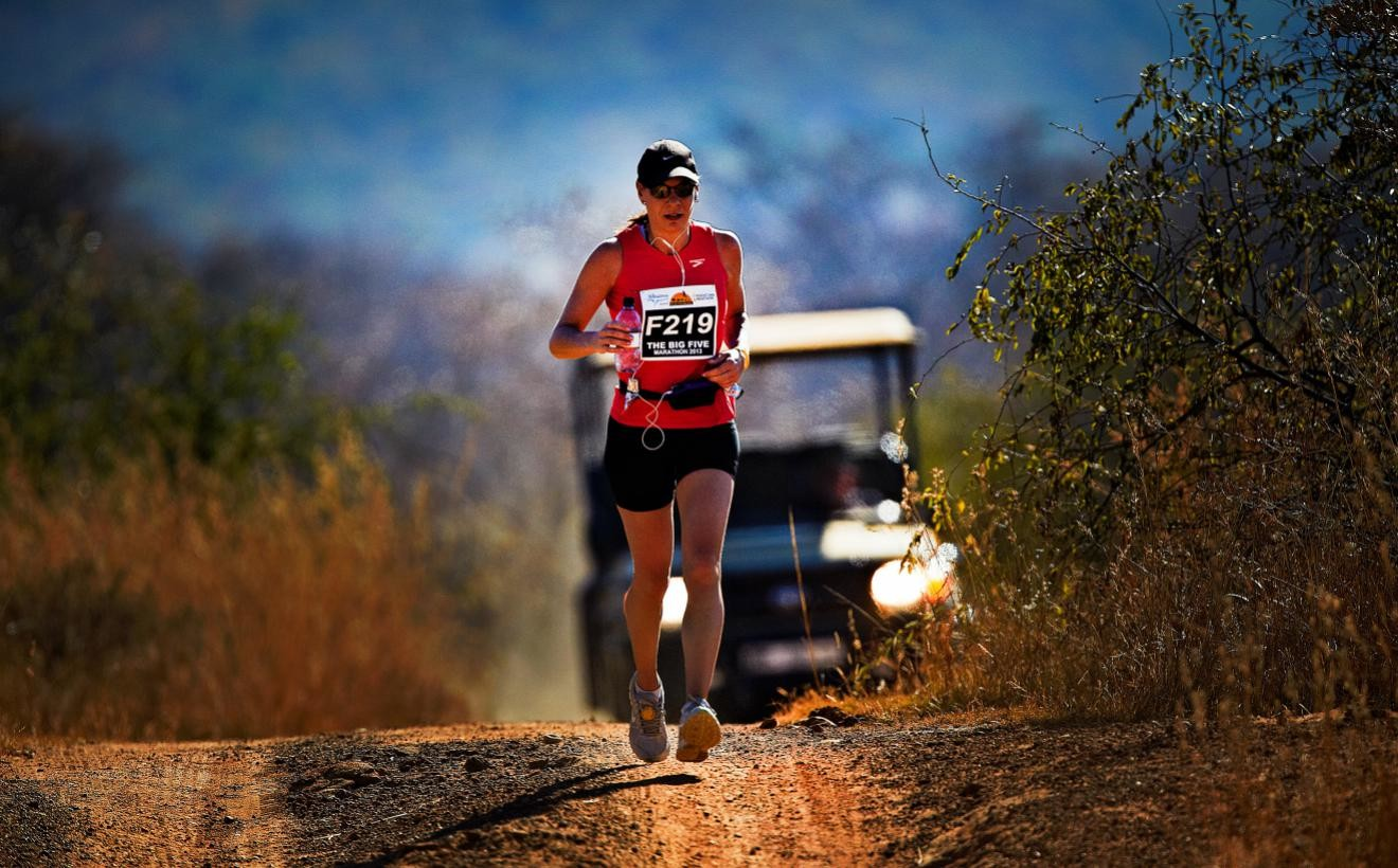 Run among the wildlife of South Africa