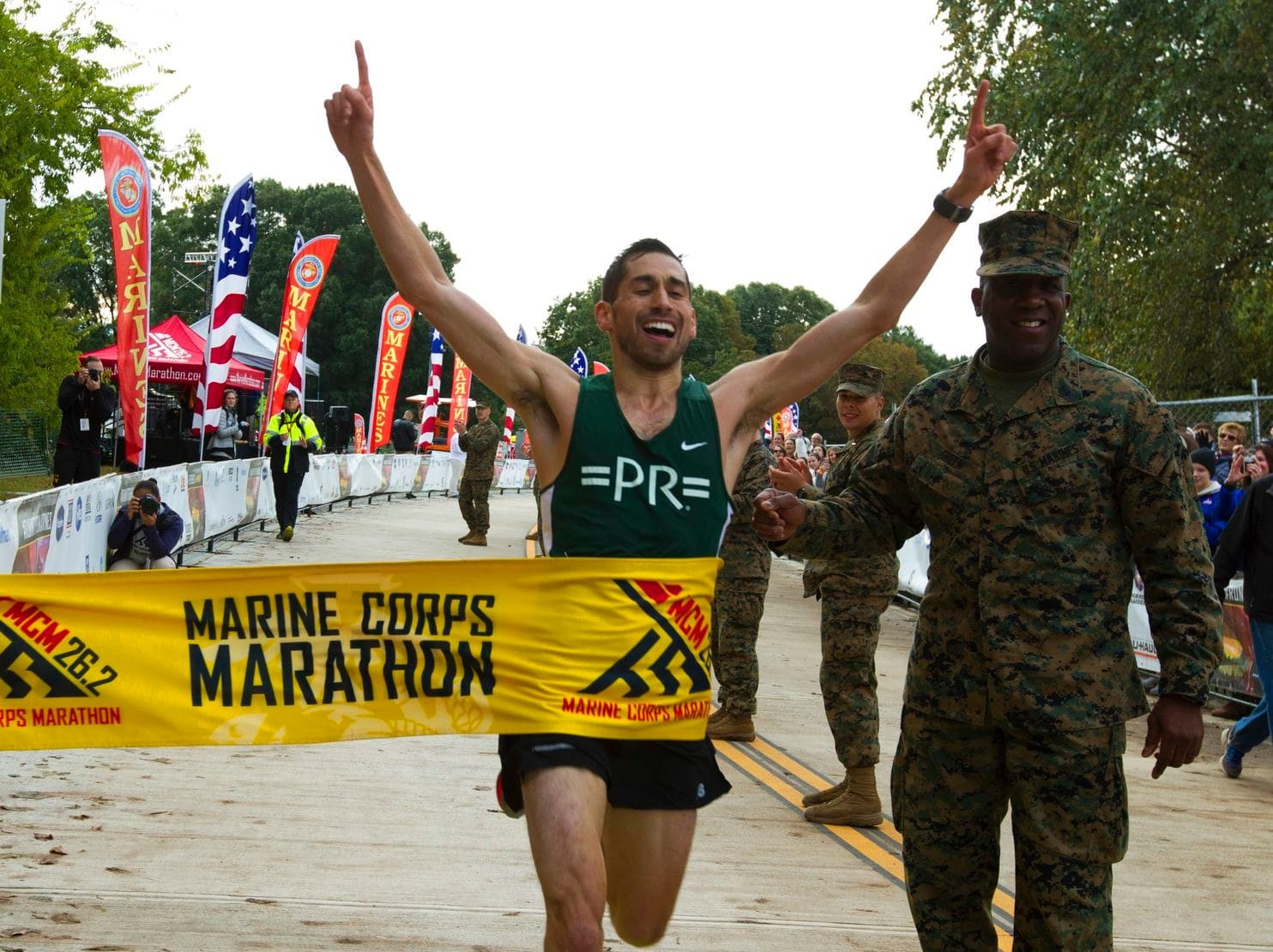 Jeffrey Stein won the 43rd Marine Corps Marathon, a first marathon win for this public defender