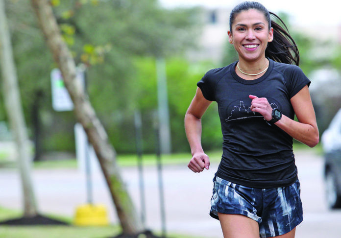 Starla Garcia is looking forward to being part of the US Olympic marathon trials this weekend