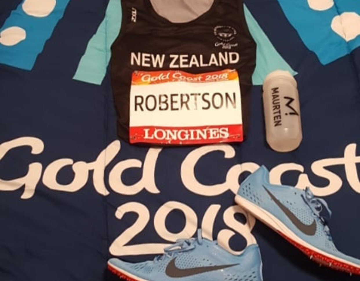 New Zealand's Jake Robertson could win the Commonweath Games 10000m Friday