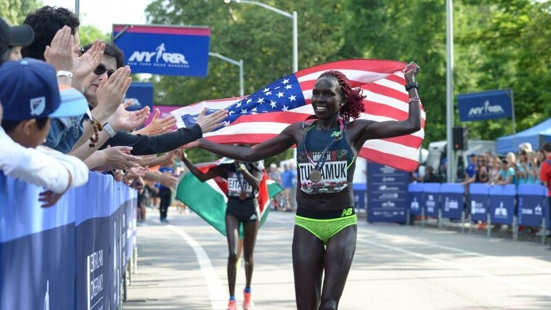 Nine-time U.S. champion Aliphine Tuliamuk has been added to the 2019 TCS New York City Marathon