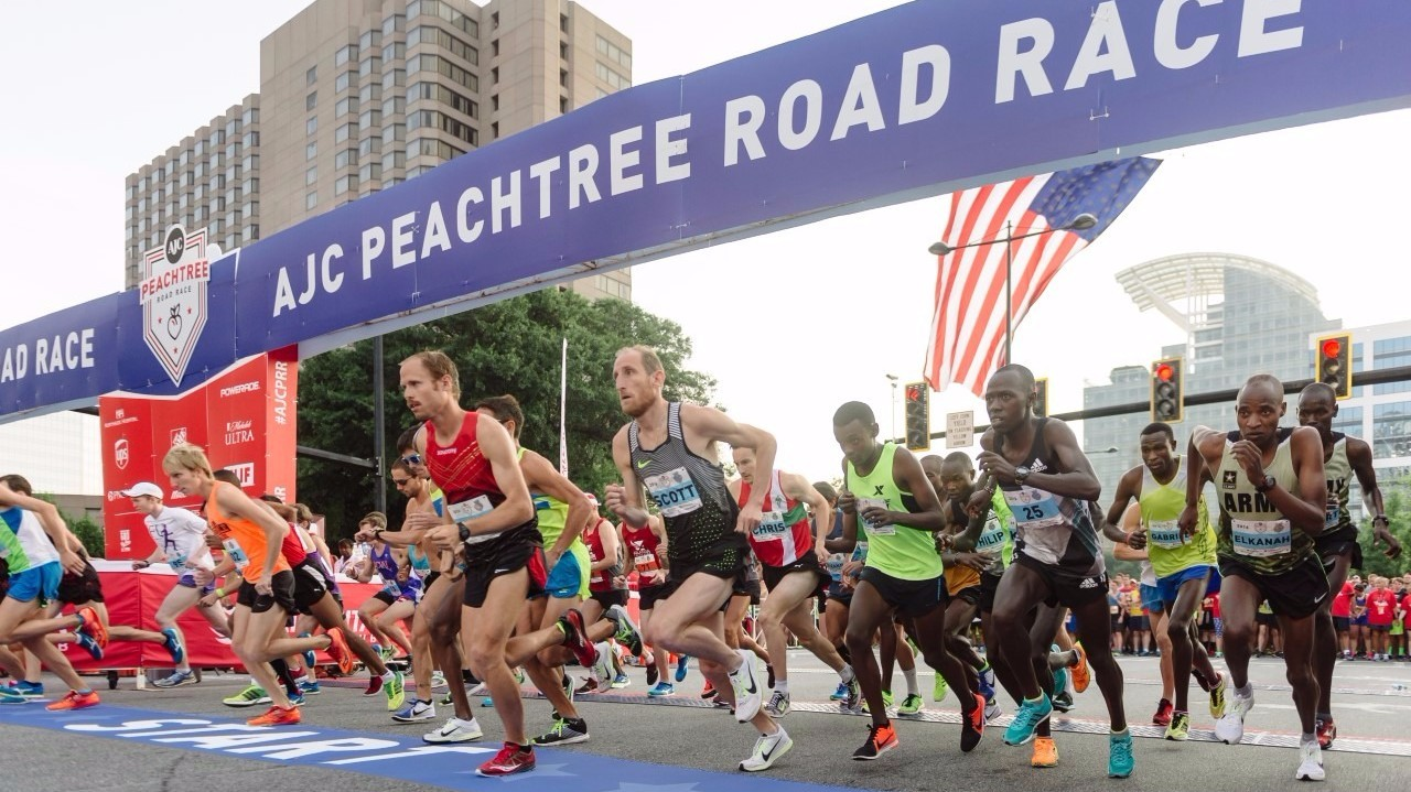 ACJ Peachtree Road Race Planned As Two Day, In-Person Event for 2021