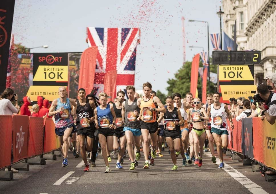 World Cup Soccer, Wimbledon and British 10K all this weekend