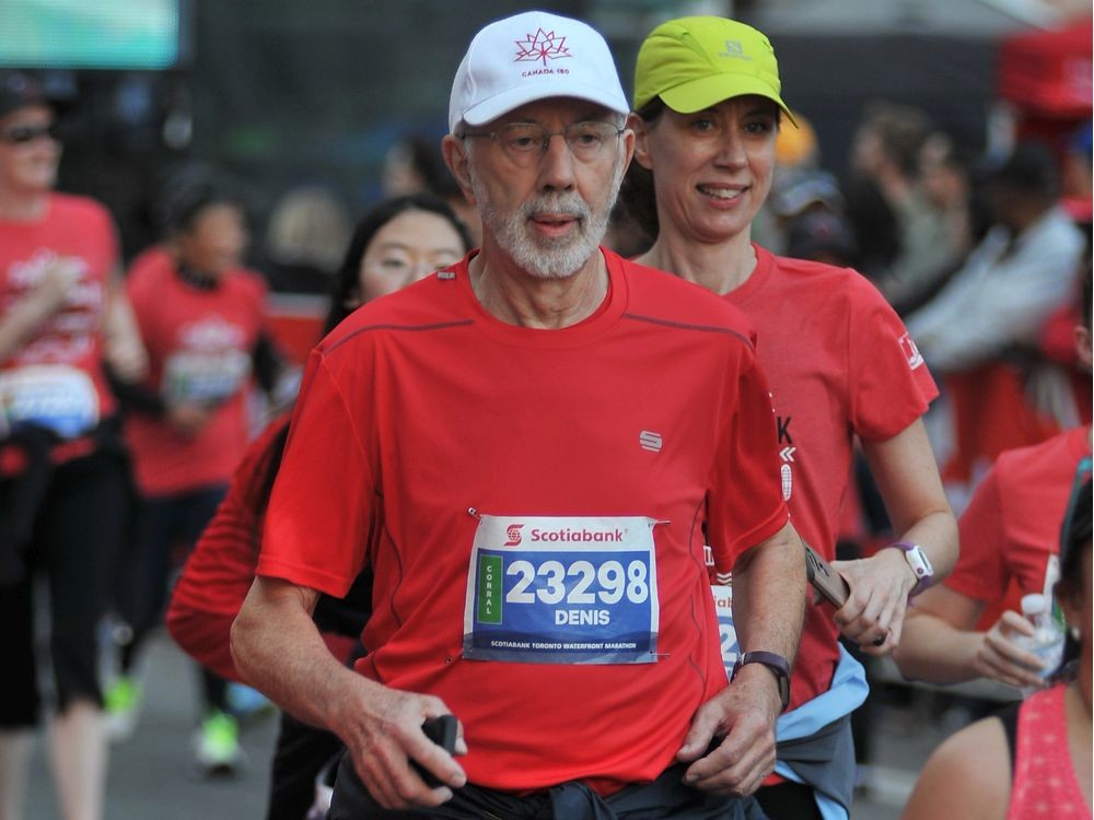 80-year-old Denis McKee is set to run his fourth 5K at Tamarack in Ottawa