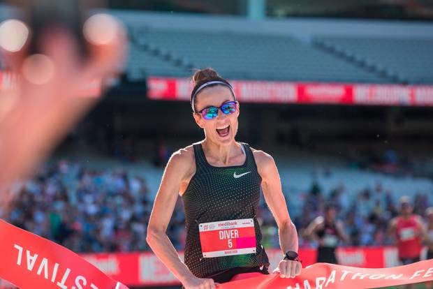 Australia's Sinead Diver hopes to reach the Tokyo Olympics qualification standard and run well in New York on Sunday