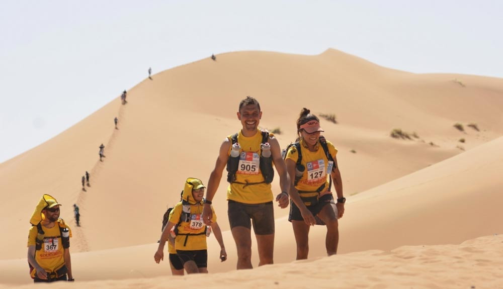 The Marathon des Sables has been postponed due to coronavirus
