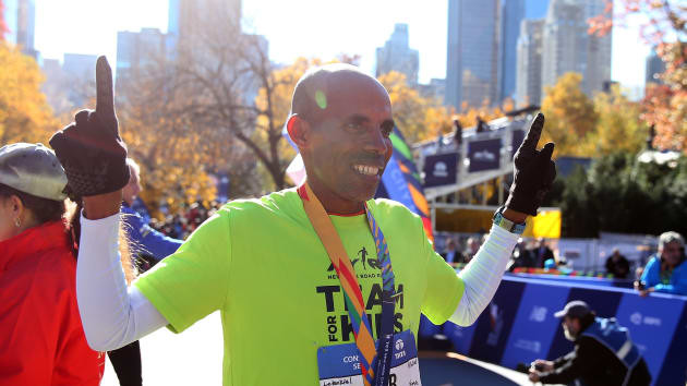 New York and Boston Marathon winner says everyone should run at least one marathon