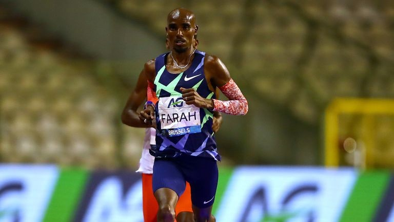 Mo Farah has asked for pacing assistance in this weekend's P&O Antrim Coast Half Marathon