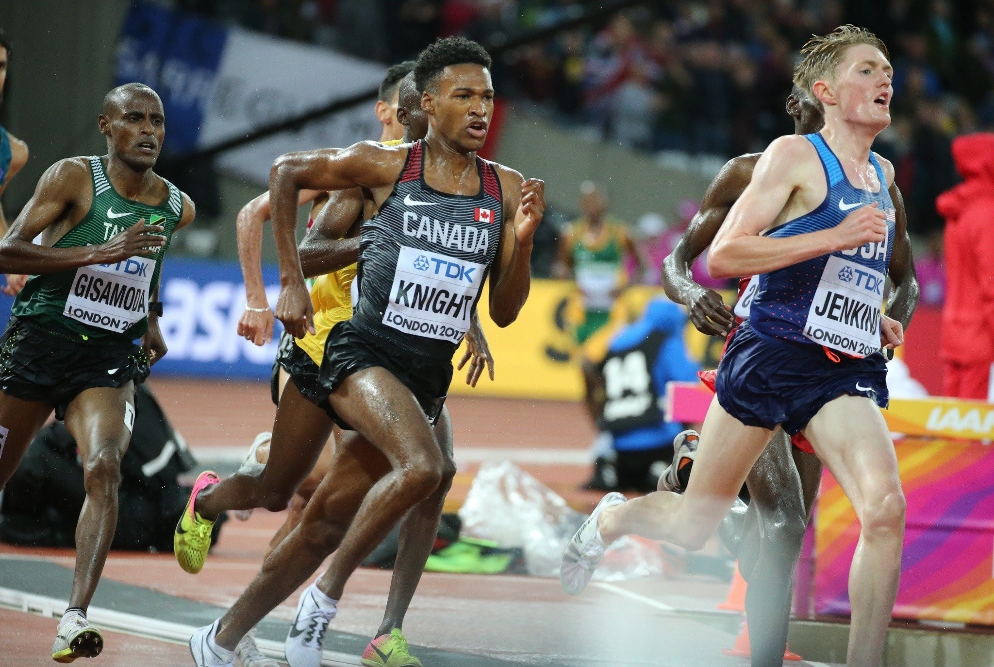 Canada´s Justyn Knight will race the 3,000m at the 112th NYRR Millrose Indoor Games