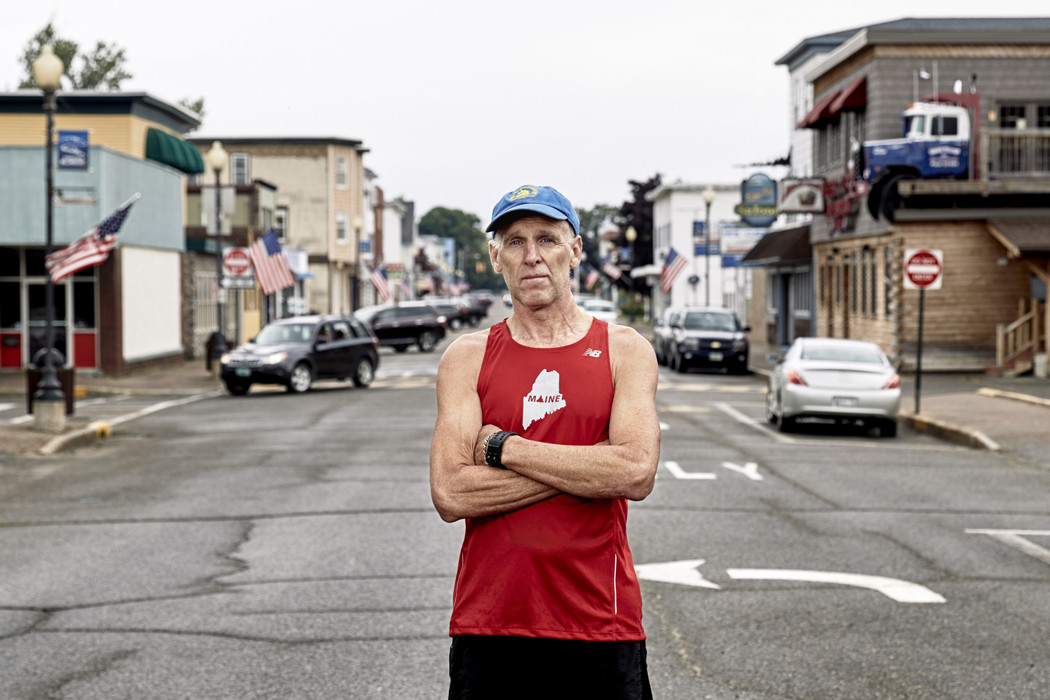 Millinocket Maine needed a boost, sure. But not a handout. So Gary Allen started an entry free marathon to help the town