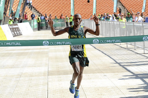 When Tsepo Mathibelle won the Soweto Marathon last year it changed his life, he wants to repeat