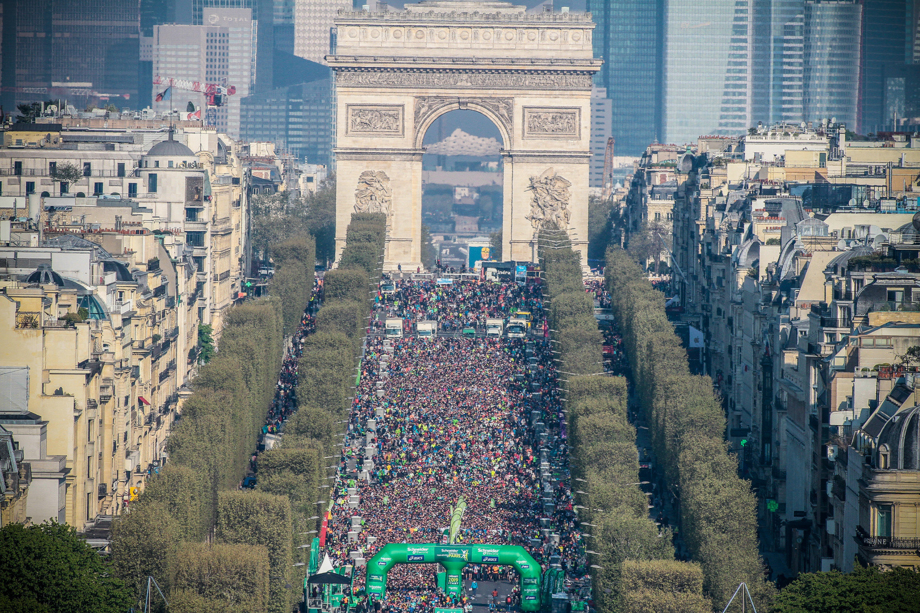 The Schneider Electric Marathon of Paris 2020, postponed to October due to coronavirus