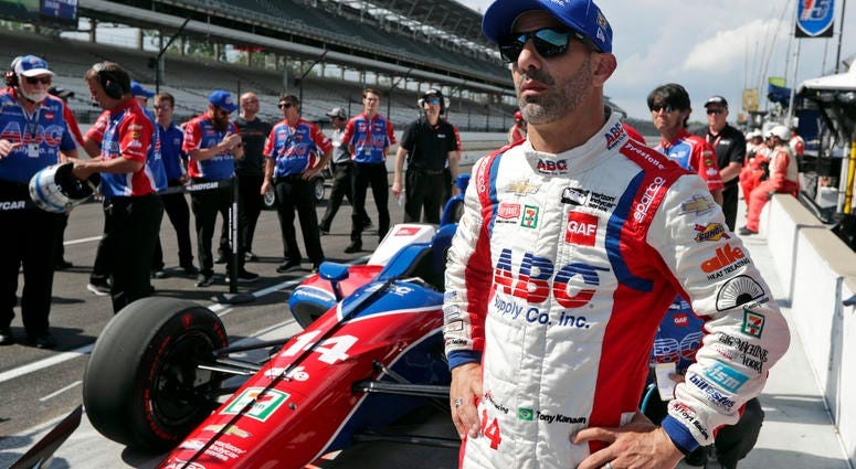 Brazilian racing driver Tony Kanaan will be running in the OneAmerica 500 Festival Mini-Marathon on May 2