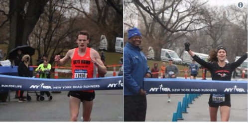 NYRR Joe Kleinerman 10K was a success even with the challenging weather
