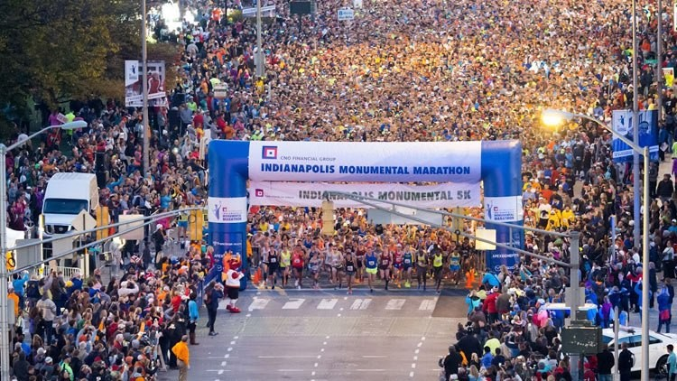 The 2020 Financial Monumental Marathon in Indianapolis will go virtual this year, organizers announced Friday