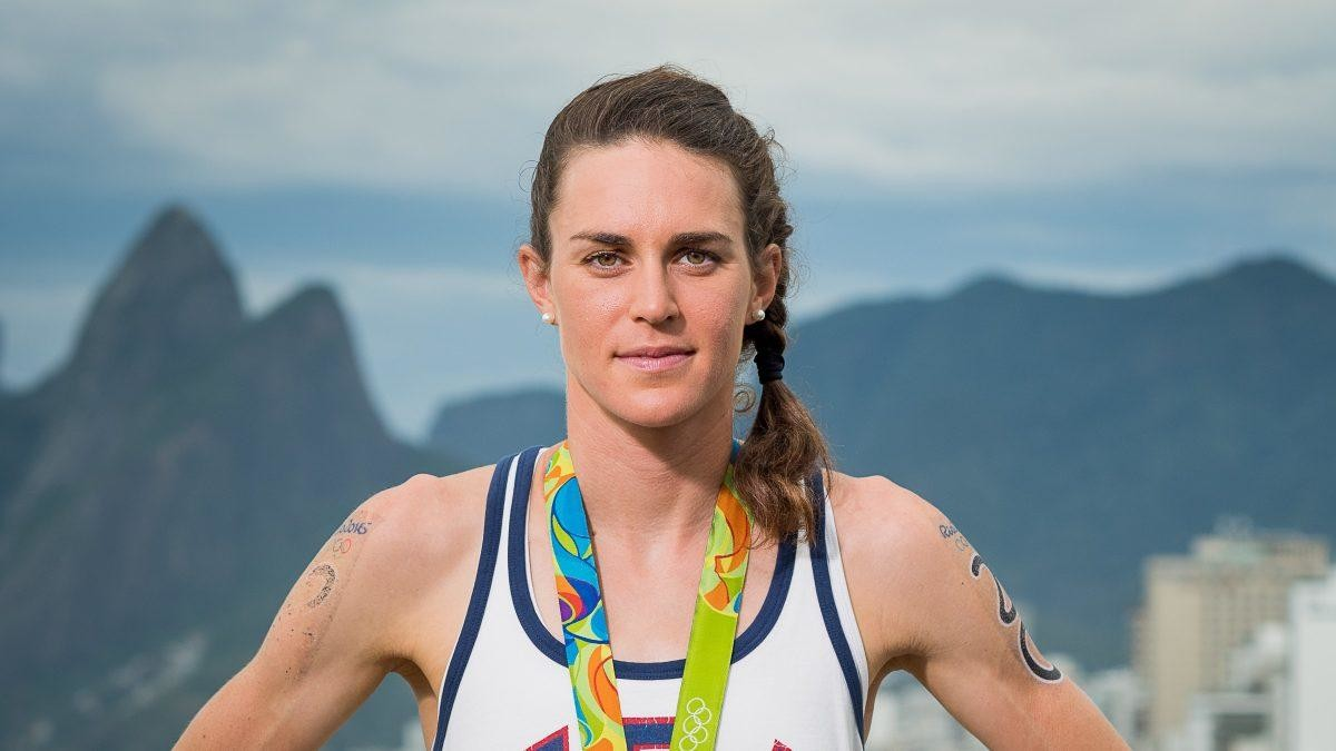 Olympic Triathon gold medalist, Gwen Jorgensen is set to race the AJC Peachtree Road Race