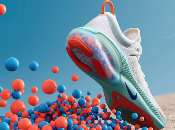 Materials in new Nike Joyride running shoes put environmentalists on alert