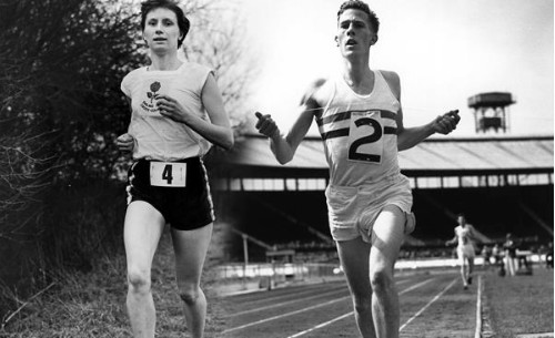 Diane Leather and Roger Bannister – the similarities and differences of two trailblazers