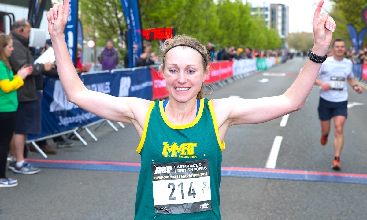 Welsh athlete Natasha Cockram has Houston Marathon as her next big marathon goal
