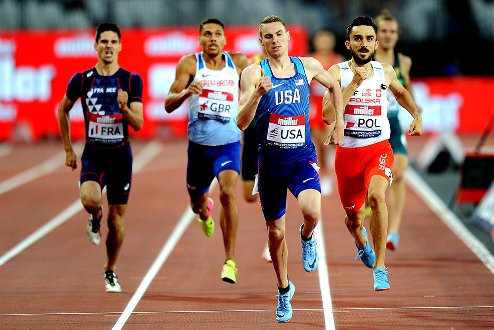 Olympic medalists Clayton Murphy and Nick Willis to Headline NYRR Wanamaker Mile Men's Field at 112th NYRR Millrose Games
