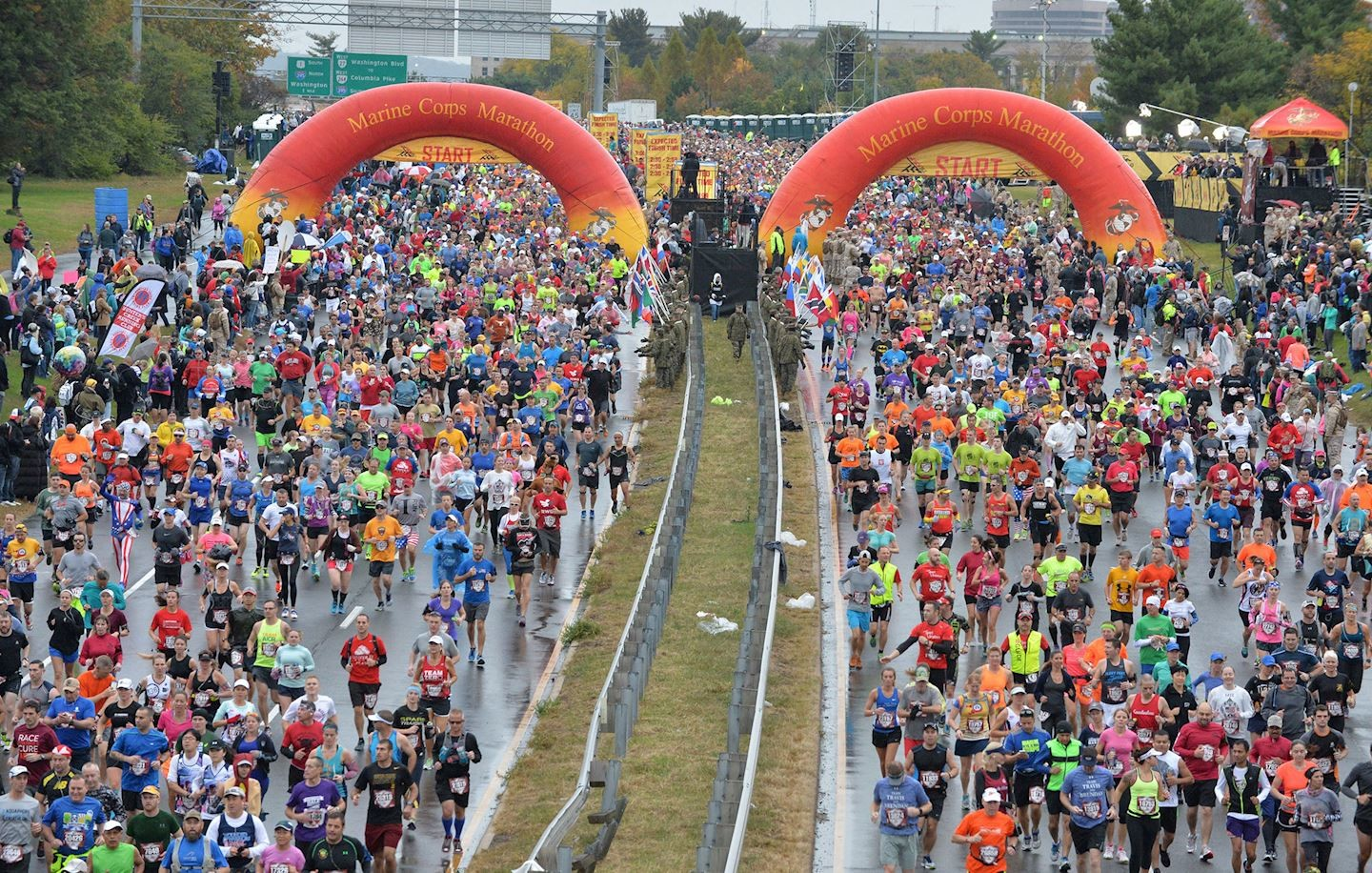 For first time in 45-year history, Marine Corps Marathon has been cancelled due to the pandemic