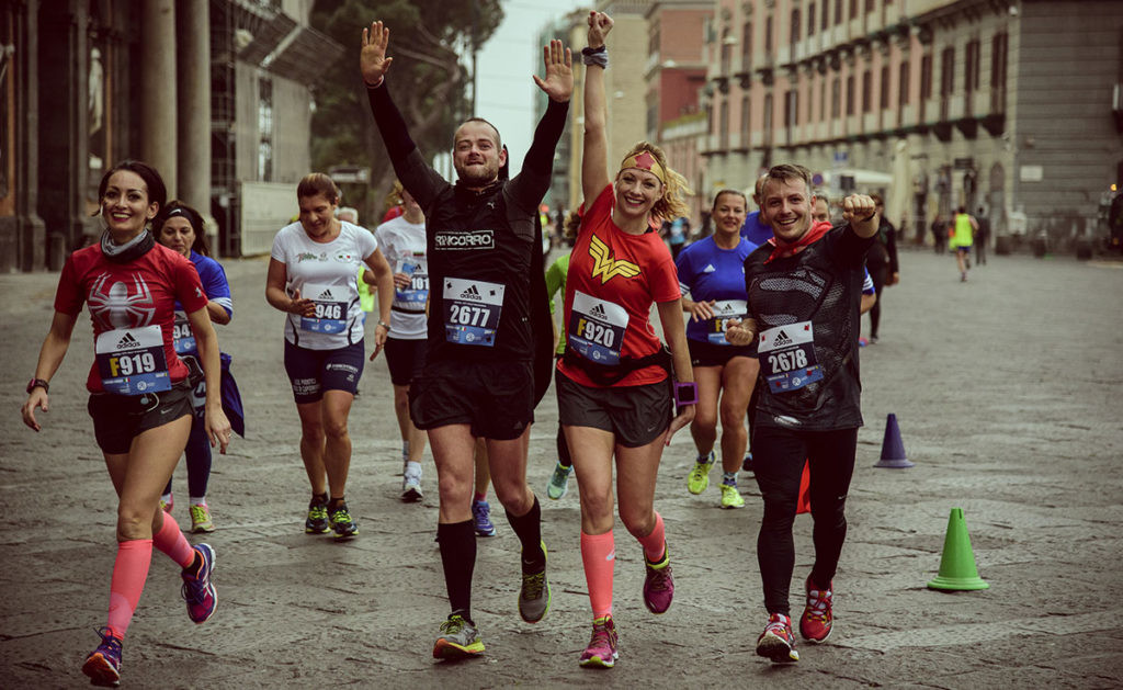 Over 4000 runners are expected to participate in the Napoli City Half Marathon