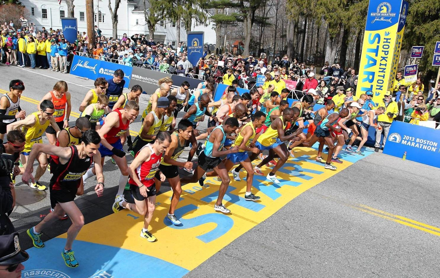 BAA to Decide in the next few weeks whether to hold the 2021 Boston Marathon on its traditional date in April, or whether to again postpone the event until later in the year