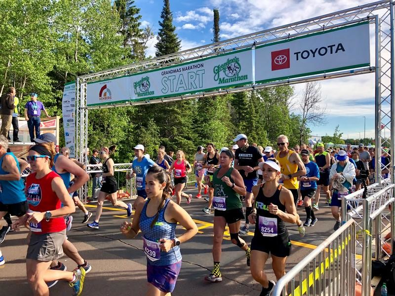 The Grandma's Marathon Kicks Off Virtual Races