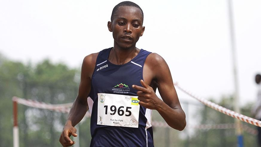 Long distance runner Felicien Muhitira is optmistic to break a six-year record at the forthcoming Marvejols-Mende half marathon