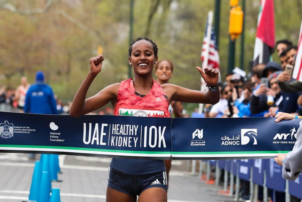 Defending Champions  Diriba and Mathew Kimeli are set for the 15th Annual UAE Healthy Kidney 10K