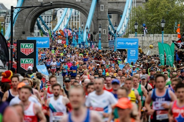 Organizers of the London Marathon are closely monitoring the spread of the coronavirus as the outbreak continues to disrupt sporting events across Europe