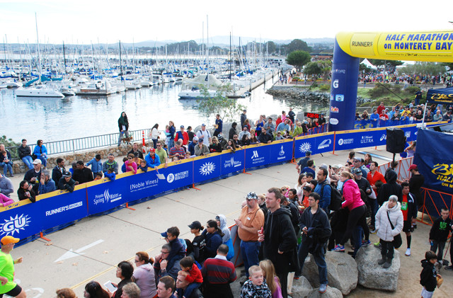 Here are the options for those who entered the Monterey Bay Half Marathon which was cancelled