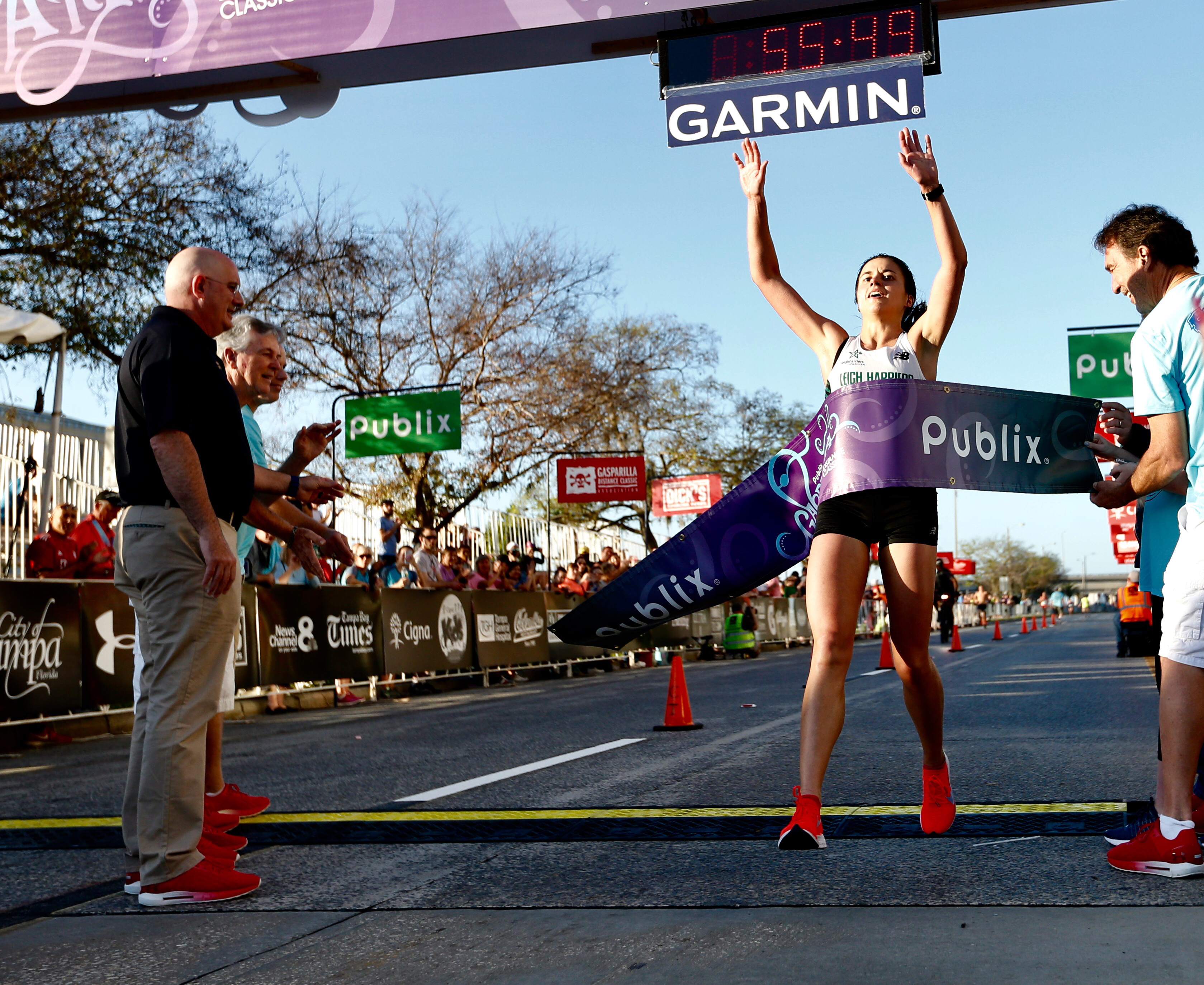 Becky Dunkel earns her second Publix Gasparilla Distance Classic 15K crown