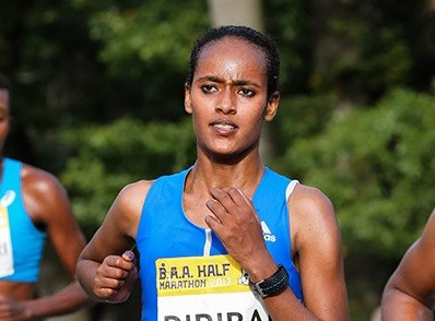 Ethiopian Buze Diriba Kejela has just confirmed she will be running the  Boilermaker 15K
