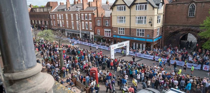 MBNA Chester Marathon have announced important changes ahead of this weekend's race due to severe weather conditions