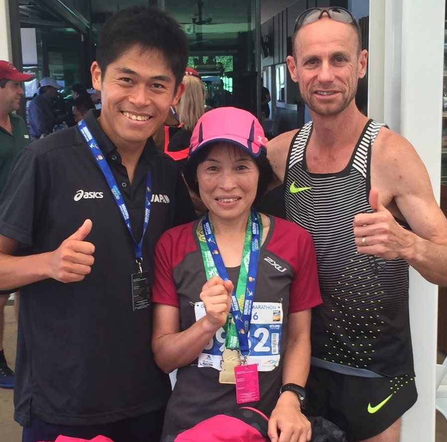 Mika Kawauchi the mom of Yuki Kawauchi is going to be running the Boston Marathon this year
